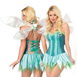 Leg Avenue Meadow Fairy or Tinkerbell Halloween Costume